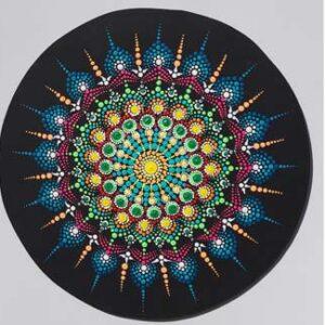 6 . Mandalas peinture